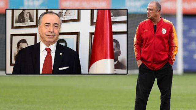 Galatasaray'da Fatih Terim- Mustafa Cengiz krizi
