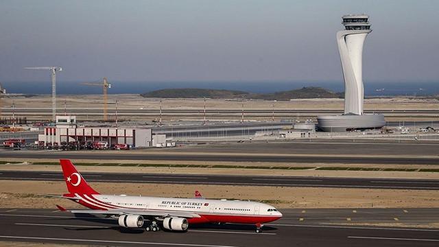 İstanbul Havalimanı'nda ilk kriz 'havada' aşılmış