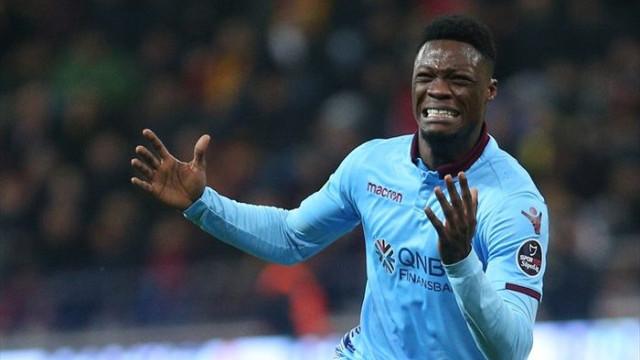 Annesini kaybeden Ekuban, Trabzonspor'a galibiyeti getirdi