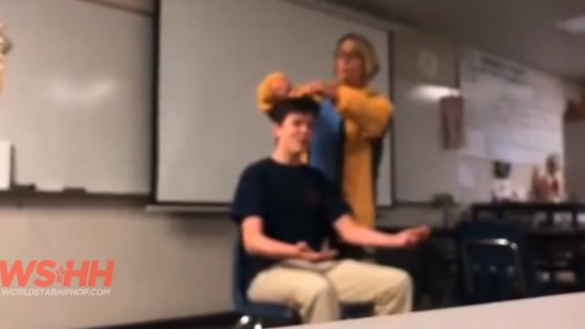 Öğrencisinin saçını zorla kesen öğretmene dava