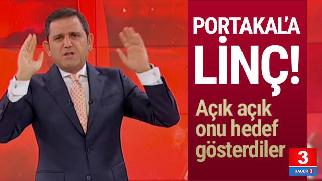 Fatih Portakal'ı hedef gösterdiler
