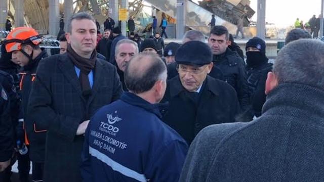 Fethi Yaşar, YHT kaza yerinde