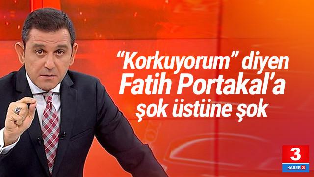 ''Korkuyorum'' diyen Fatih Portakal'a peş peşe suç duyurusu