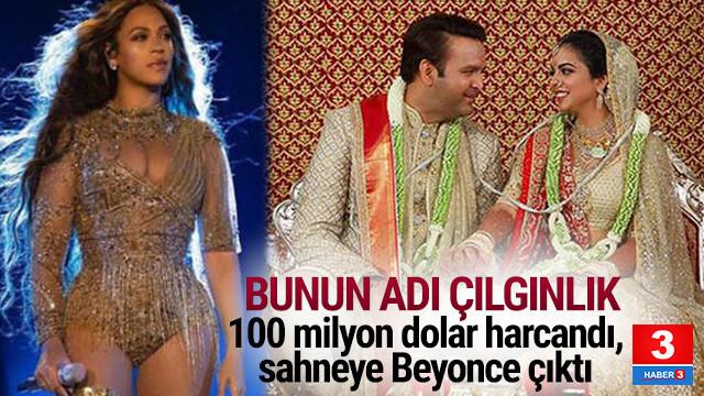 100 milyon dolarlık düğün ! Beyonce konser verdi
