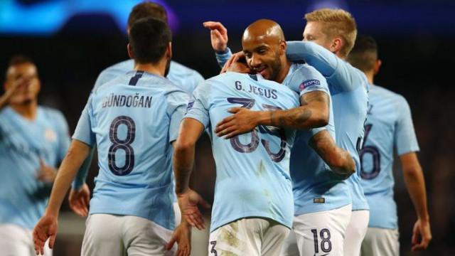 Manchester City 3 - 1 Everton