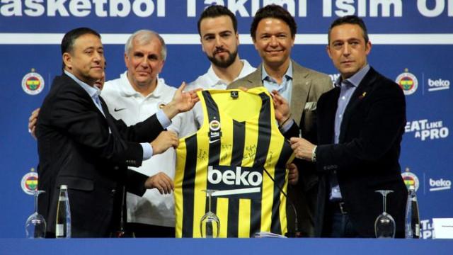 Fenerbahçe Erkek Basketbol Takımı, Beko ile isim sponsorluğu anlaşması imzaladı