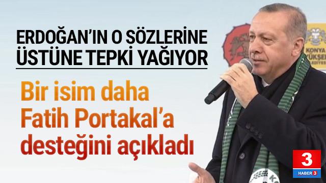 Erdoğan'a tepki üstüne tepki yağıyor