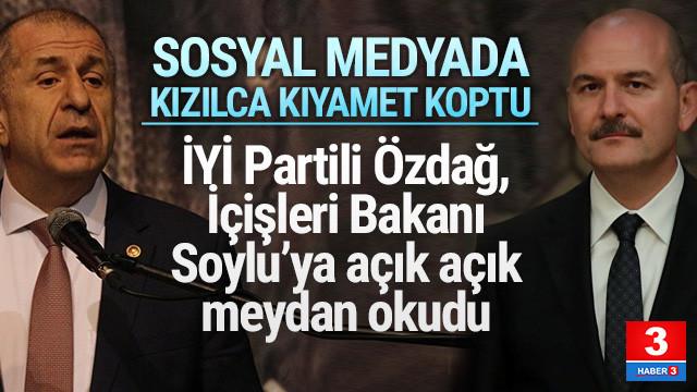 Bakan Soylu ile İYİ Partili Özdağ Twitter'da kapıştı