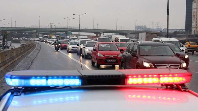Binlerce sürücüye trafik cezası yağdı