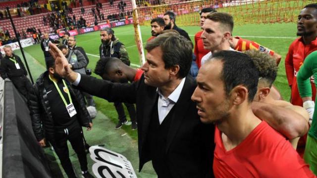 Kayserispor'da Ertuğrul Sağlam'ın sözleşmesi karşılıklı olarak feshedildi