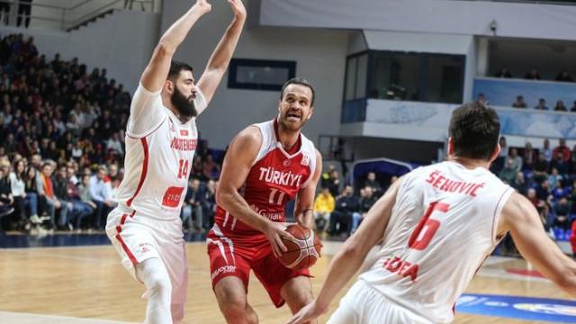 Karadağ 71 - 66 Türkiye (2019 FIBA Dünya Kupası Avrupa Elemeleri)