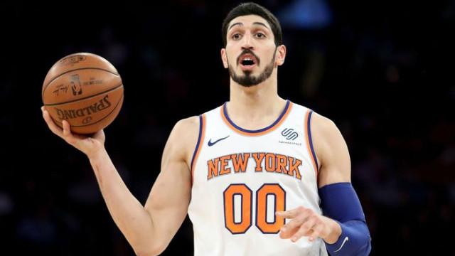 NBA, FETÖ'cü Enes Kanter'e paylaştığı görselde yer vermedi!