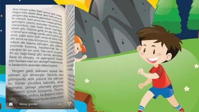 Çocuk kitabında mide bulandıran cinsel istismar satırları