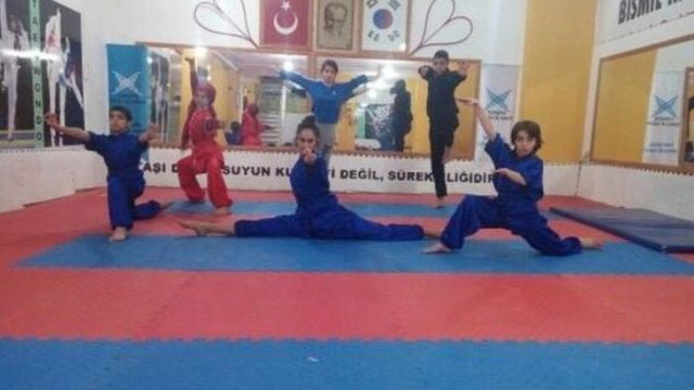 Kenan Güneş, Diyarbakır'daki Wushu Kungu-Fu sporcularına destek istedi