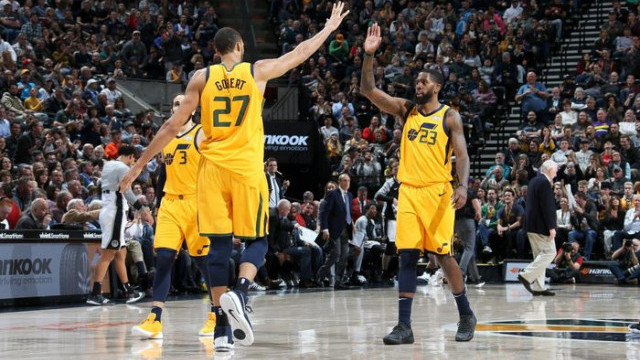 Utah Jazz 139 - 105 San Antonio Spurs