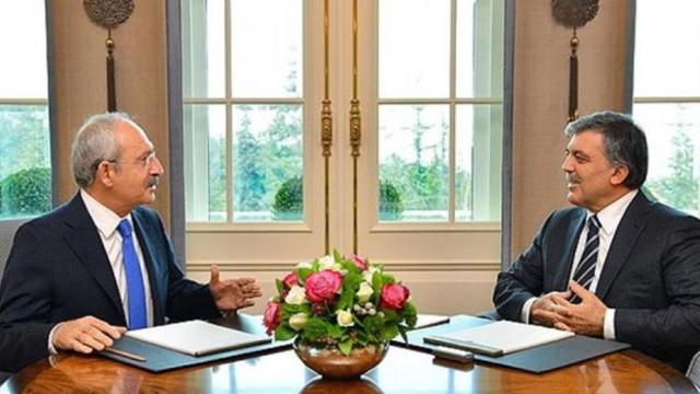 ''Kılıçdaroğlu Abdullah Gül'le görüştü''