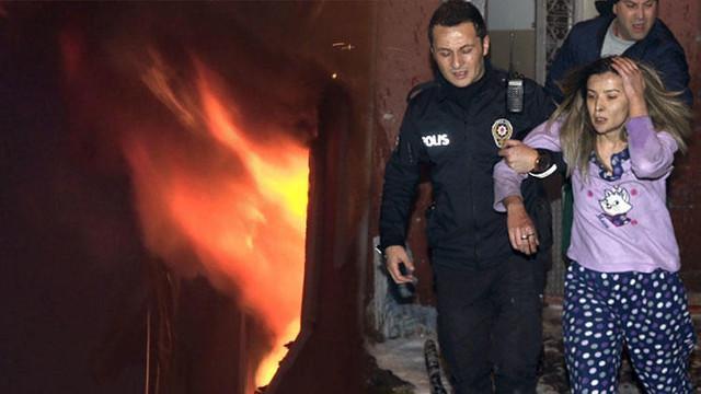 Bayrampaşa'da yangın: 3'ü ağır, 7 yaralı