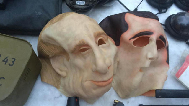 Putin maskesiyle Türkleri soydular