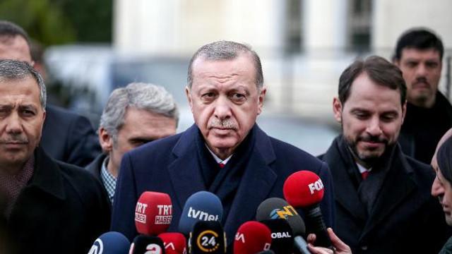 Erdoğan'dan ''askerlik kısalacak mı ?'' sorusuna yanıt