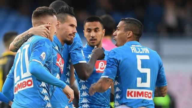 Napoli 4 - 0 Frosinone