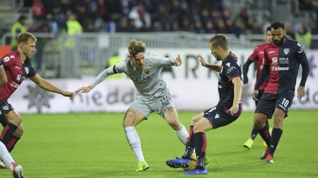 Cagliari 2 - 2 Roma