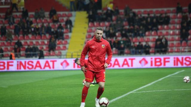 Kayserispor'da Rajko Rotman, Kasımpaşa maçında yok