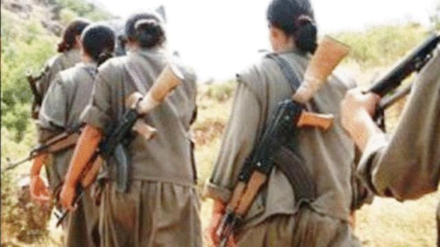 Tecavüze uğrayan kadın terörist kurşun yağdırdı