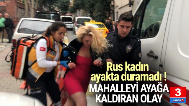 Nişantaşı'nda Rus koca dehşet saçtı