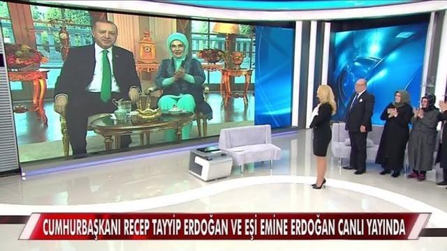 Müge Anlı'nın canlı yayında Cumhurbaşkanı Erdoğan sürprizi
