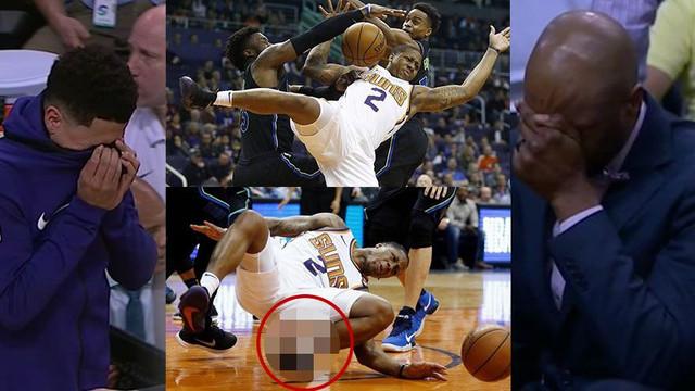 NBA'da korkunç sakatlık ! Kimse bakamadı...