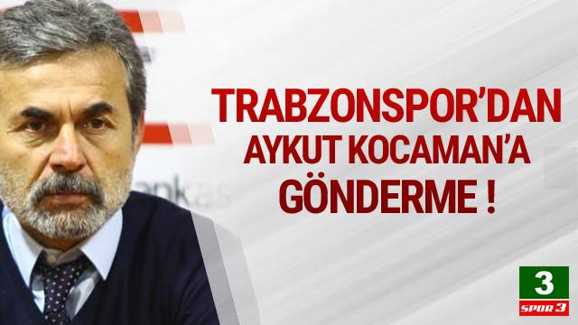 Aykut Kocaman'a olay gönderme