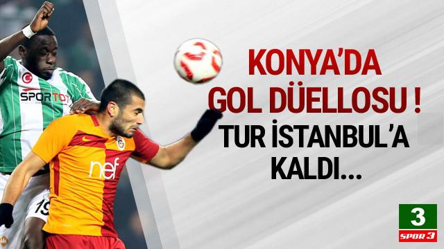 Konya'da gol düellosu !
