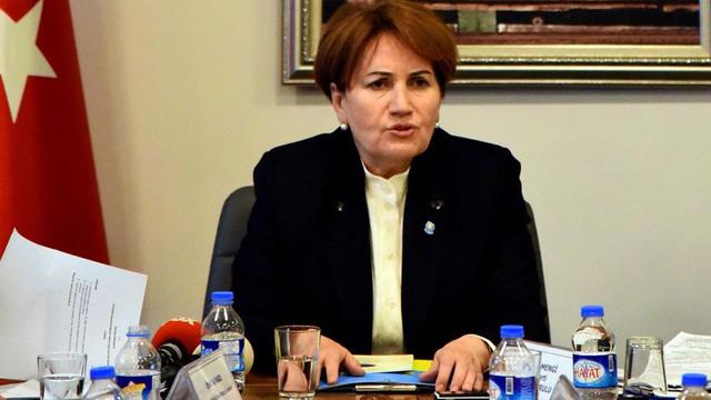 İYİ Parti lideri Akşener'den ÖSO açıklaması