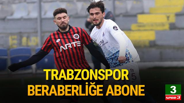 Gençlerbirliği - Trabzonspor: 0-0