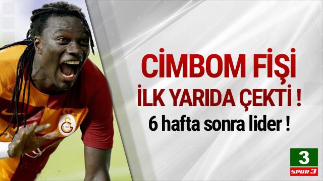 Yeni lider Galatasaray !