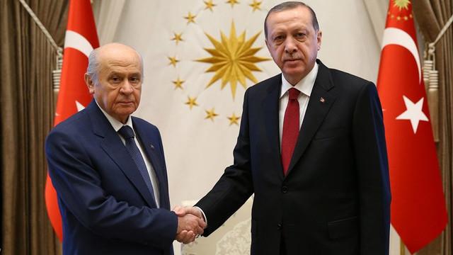 Erdoğan ve Bahçeli biraraya geliyor