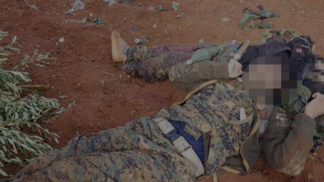 PYD/PKK'lı teröristlerden cesetli tuzak !