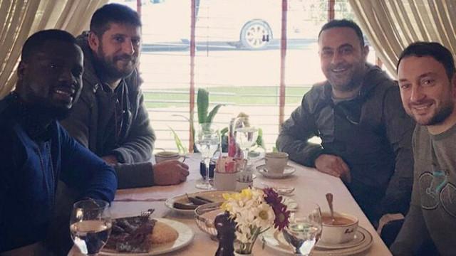 Eboue İstanbul'a geldi !