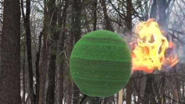 40 bin kibrit aynı anda yakılırsa ortaya nasıl bir görüntü çıkar?