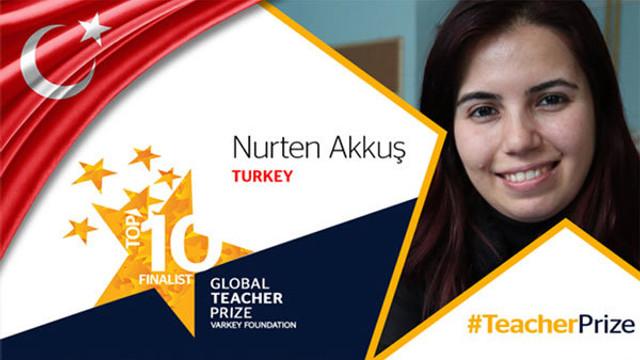 Nurten öğretmen 'Eğitim Nobeli'nde ilk 10'a kaldı