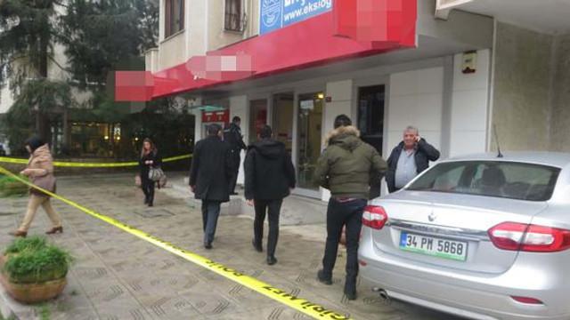 İstanbul'da silahlı banka soygunu !