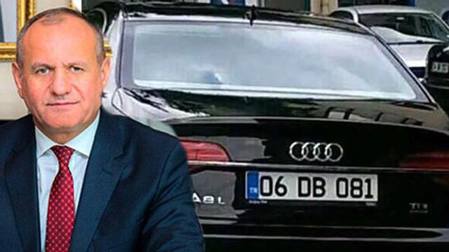 İstifa eden başkanın lüks otomobili satıldı