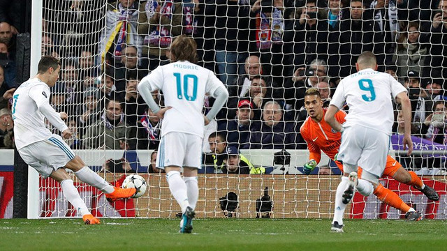 Ronaldo'dan sihirli penaltı vuruşu !