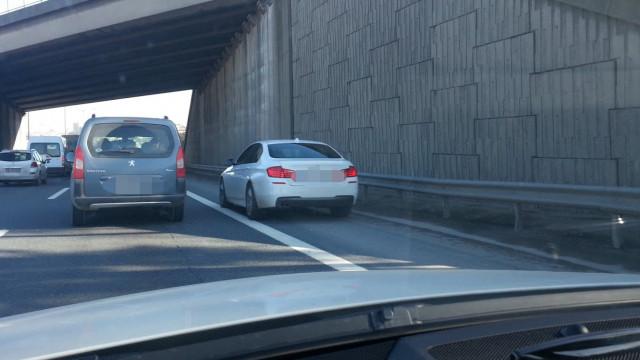 Trafikteki ''emniyet şeridi yüzsüzleri'' bakalım şimdi ne yapacak !