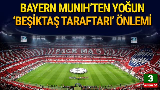 Bayern Münih'ten Türk taraftar önlemi