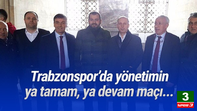 Trabzonspor'de yönetimin istifasına bir adım kaldı !