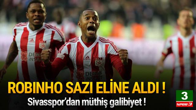 Sivasspor'da Robinho şov !