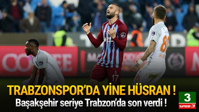 Trabzonspor'da yine hüsran !