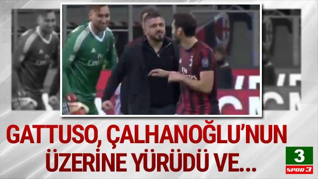 Gattuso: Çalhanoğlu'na yumruk atmak istedim  Kaynak Yeniçağ: Gattuso,