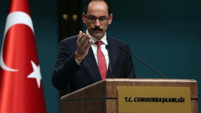 Kalın: ''Suriye'de rejimle temas kurulabilir''